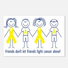 Friends Fighting Cancer Postcards (Package of 8)