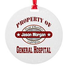 PROPERTY of GH Jason Morgan copy Ornament