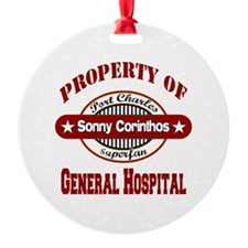 PROPERTY of GH Sonny Corinthos copy Ornament