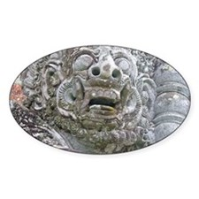 Balinese Temple Guardian Decal