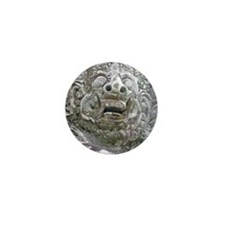Balinese Temple Guardian Mini Button