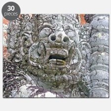 Balinese Temple Guardian Puzzle