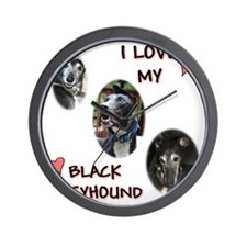 I love my blk gh shirt 2010 Wall Clock