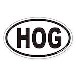 HOG Euro Oval Sticker