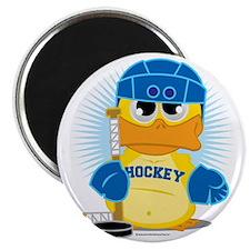 Hockey-Duck Magnet