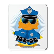 Police-Duck Mousepad