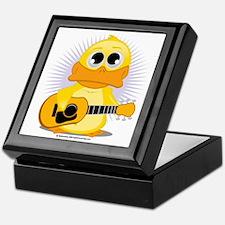 Guitar-Duck Keepsake Box