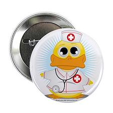 "Nurse-Duck 2.25"" Button"