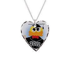 Graduation-Duck-2011 Necklace Heart Charm