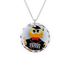 Graduation-Duck-2011 Necklace Circle Charm