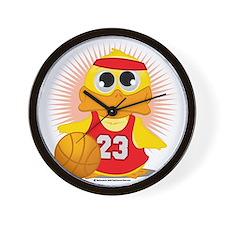 Basketball-Duck Wall Clock