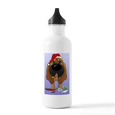 BloodhoundBlue Water Bottle