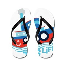 Tug Life Flip Flops