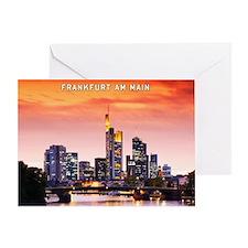 Frankfurt 02D Greeting Card