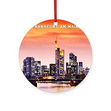 Frankfurt 02D Round Ornament