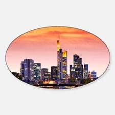 Frankfurt 02D Sticker (Oval)