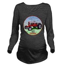 961-C8trans Long Sleeve Maternity T-Shirt