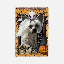 HalloweenNightmare_Chinese_Creste Rectangle Magnet