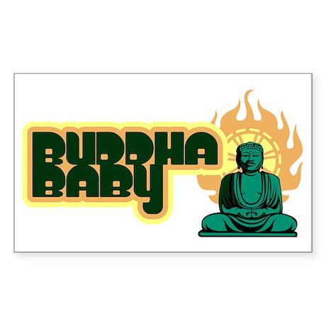 buddha_baby Sticker (Rectangle)