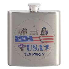 Tea Party Flask
