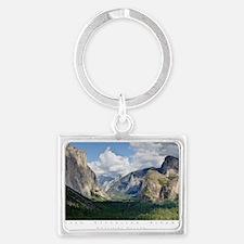 YosemiteValley14x10 Landscape Keychain
