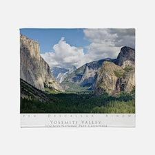YosemiteValley14x10 Throw Blanket