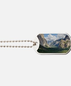 YosemiteValley14x10 Dog Tags