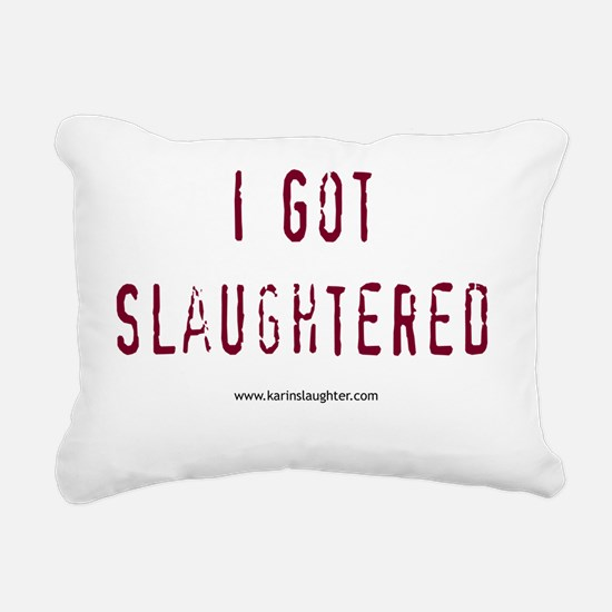 2-slaughteredstackedshir Rectangular Canvas Pillow