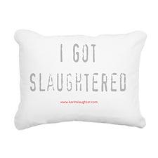 slaughtereddark copy Rectangular Canvas Pillow