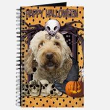 HalloweenNightmare_Goldendoodle Journal