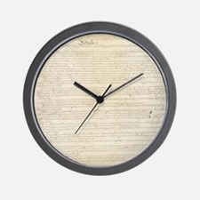 Constitution Wall Clock