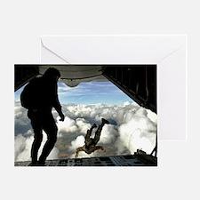 USAF PJ LFP Greeting Card