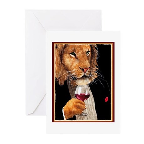 Wine King Greeting Cards (Pk of 10)