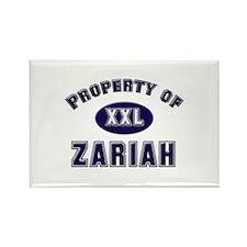 My heart belongs to zariah Rectangle Magnet
