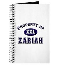 My heart belongs to zariah Journal