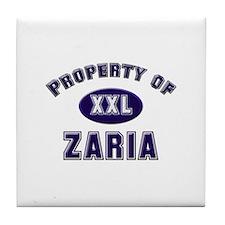 My heart belongs to zaria Tile Coaster