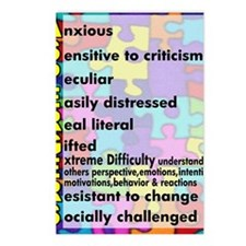 traits nrrow Postcards (Package of 8)