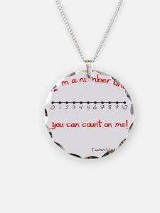 Im a Number Line Necklace