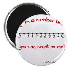 Im a Number Line Magnet