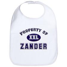 My heart belongs to zander Bib