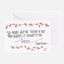Courageous Living Greeting Cards