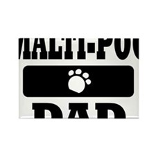 MALTI-POO DAD Rectangle Magnet