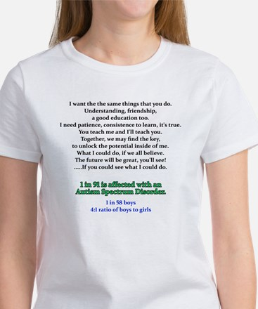 if u could see quote Women's T-Shirt