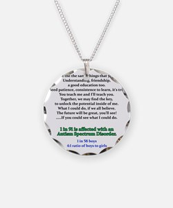 if u could see quote Necklace