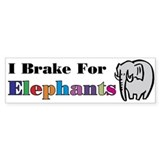 Elephant Bumper Stickers