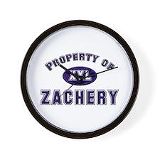 My heart belongs to zachery Wall Clock