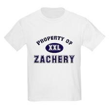 My heart belongs to zachery Kids T-Shirt