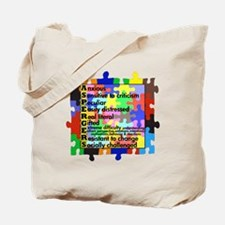 asd traits fut no white Tote Bag