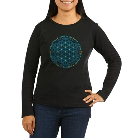 fol_languages Women's Long Sleeve Dark T-Shirt