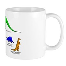 Colored Dinos Mug
